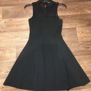 *BooHoo Night* Black Dress